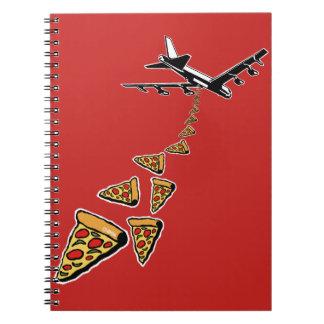 No war more pizza notebooks
