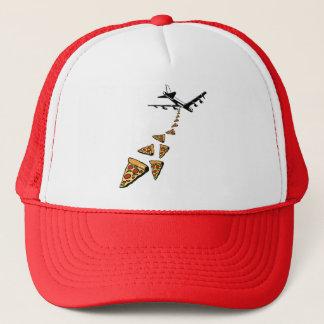 No war more pizza trucker hat
