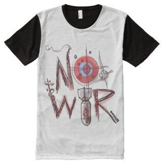no war text based illustration