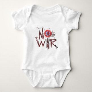 no war text based illustration shirt