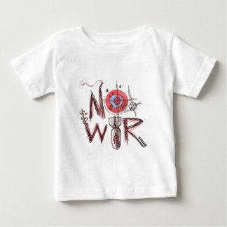no war text based illustration tshirts
