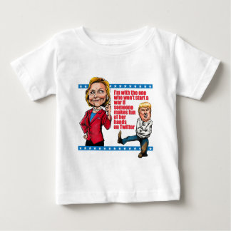 No Wars For Twitter! Baby T-Shirt