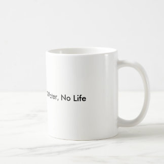 No Water, No Life Protect Our Water Coffee Mug