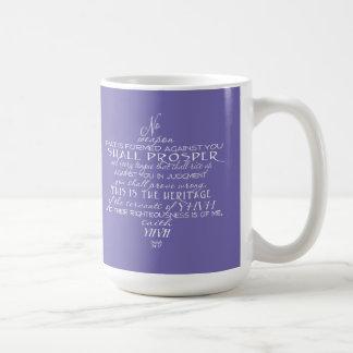 No Weapon Star of David (Custom Color) Coffee Mug