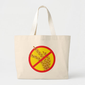 No Wheat Large Tote Bag