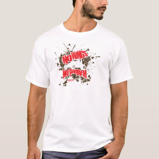 No Wings No Problem Sprint Car T-Shirt
