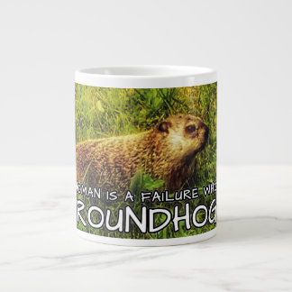 No woman is a failure who has Groundhogs mug