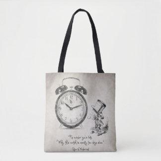 No wonder you're late tote bag