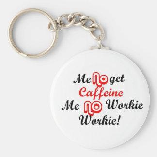 no work keychain