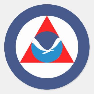 Noaa, United States Classic Round Sticker