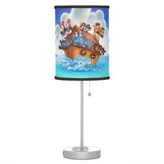 Noah Ark cartoon lamp kids room