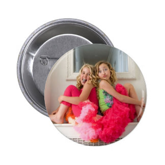 Noah Cyrus and emily grace 2 Inch Round Button