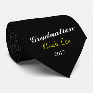 """Noah Lee"" Graduation 2017 Black Tie"