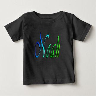 Noah, Name, Logo, Baby's Black T-shirt