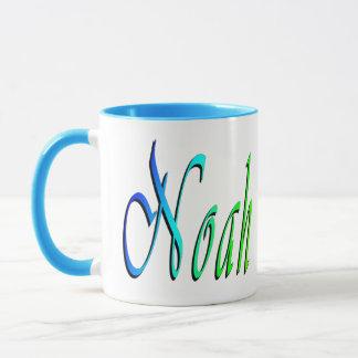 Noah, Name, Logo, Ringer Combo Coffee Mug