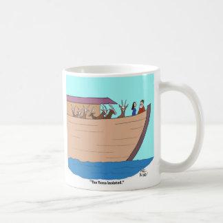 """Noah: """"The lions insisted."""" Coffee Mug"""