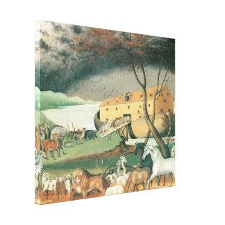 Noah's Ark, 1846 Canvas Print