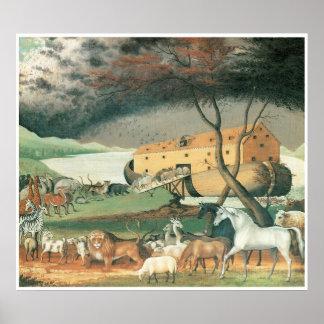 Noah's Ark, 1846 Poster
