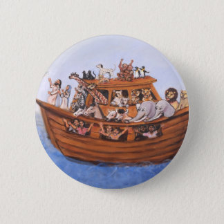 Noah's Ark 2 Inch Round Button