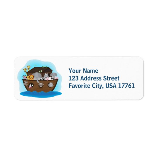 Noah's Ark Address Labels