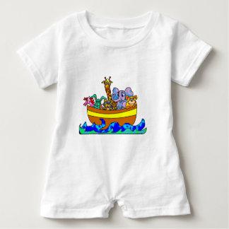 Noah's Ark Baby Romper