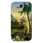 Noah's Ark by Hidley, Vintage Victorian Folk Art Samsung Galaxy S4 Cover