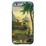 Noah's Ark by Hidley, Vintage Victorian Folk Art Tough iPhone 6 Case