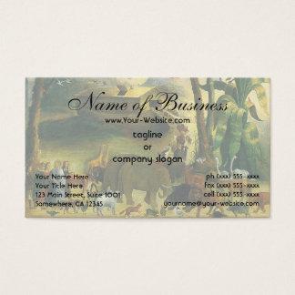 Noah's Ark by Joseph Henry Hidley Business Card