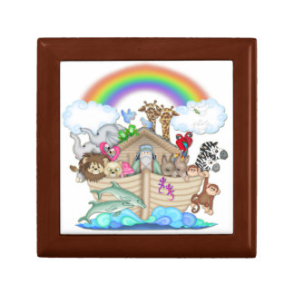 Noah's Ark Ceramic Tile Premium Gift Box