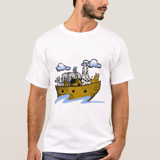Noah's ark Christian artwork_3 T-Shirt