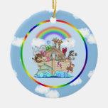 Noah's Ark Christmas Ornament