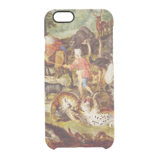 Noah's Ark, detail of the right hand side Clear iPhone 6/6S Case