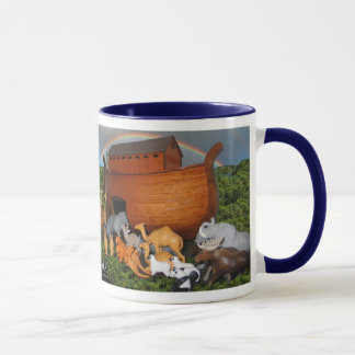 Noahs Ark Diorama Coffee Mug