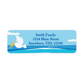 Noah's Ark | Dove | Personalized Return Address Label