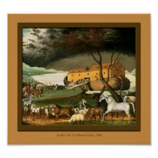Noahs Ark Fine Art Kids Room Print