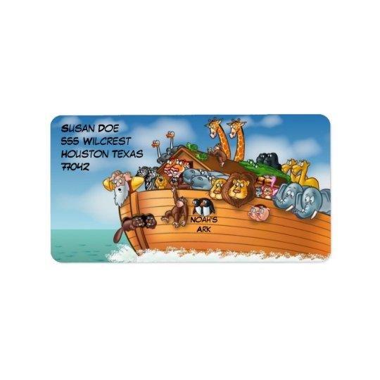 Noah's Ark Label
