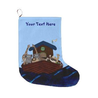Noah's Ark Large Christmas Stocking