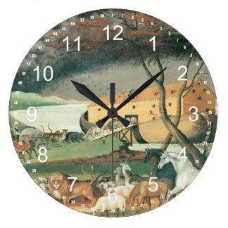 Noah's Ark Large Clock
