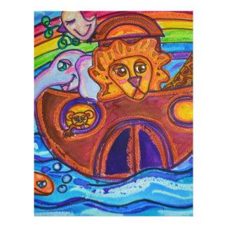 Noah's Ark Letterhead Design