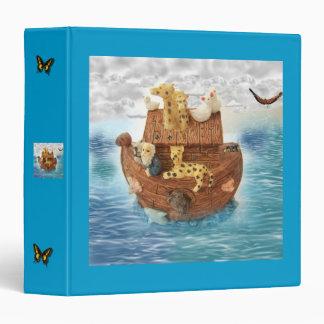 Noah's Ark Photo Album 3 Ring Binder