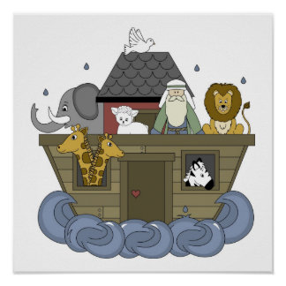 Noahs Ark Poster up to23x23