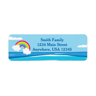 Noah's Ark | Rainbow | Personalized Return Address Label