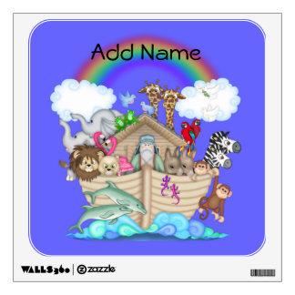 Noahs Ark Rainbow Wall Decal
