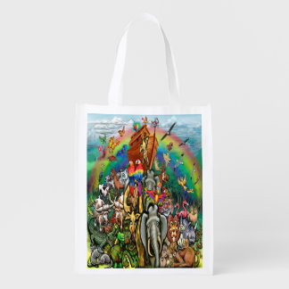 Noah's Ark Reusable Grocery Bag