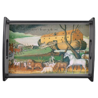 noahs ark serving tray