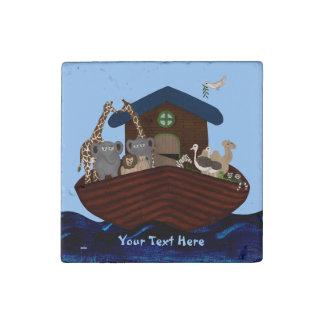 Noah's Ark Stone Magnets