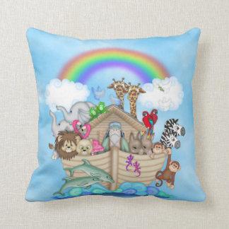 Noah's Ark Themed Pillow