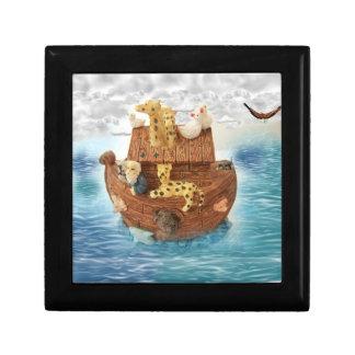 Noah's Ark Trinket Gift Box