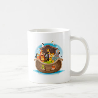 Noah's Ark With Jungle Animals Coffee Mug