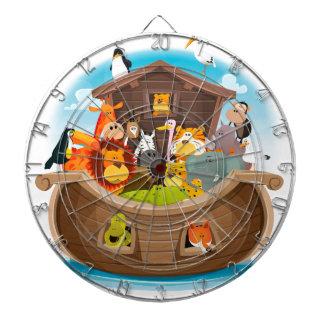 Noah's Ark With Jungle Animals Dartboard